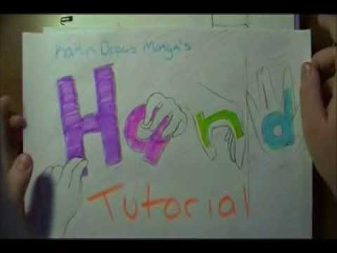 """How to Draw Manga Hands - Part 1: """"Beginner's Guidelines"""""""