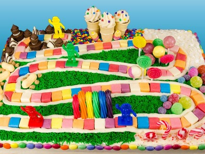 How to Make a Candyland Cake from Cookies Cupcakes and Cardio