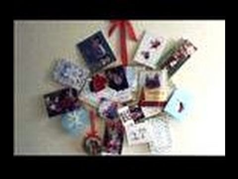 How to make a Christmas Card Holder, Advent Calendar, or Photo Display Day 42