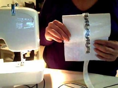 How to make a cosmetic bag or wallet out of plastic material