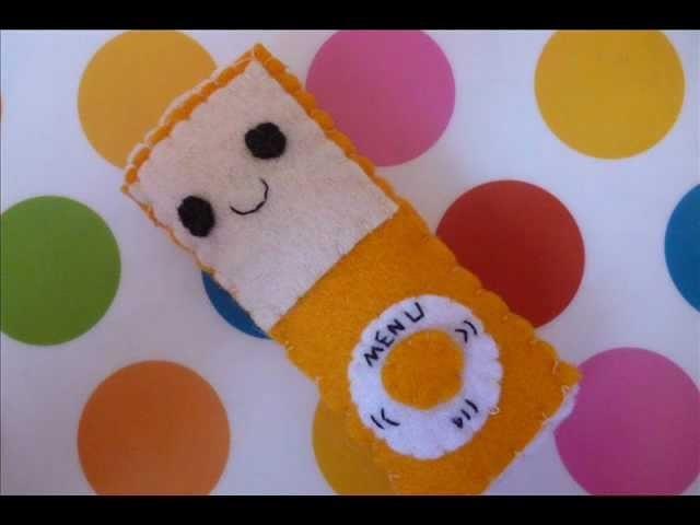 How to Make a Kawaii iPod Plushie (Plush Tutorial)