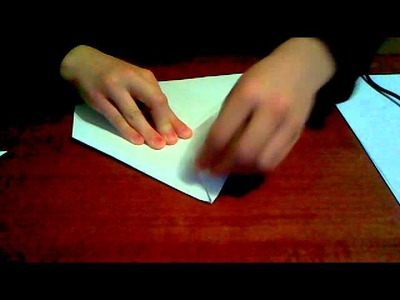 How to make a simple kids homemade envelope in 3 minutes