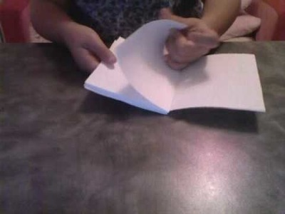 How to make A3 paper booklet.