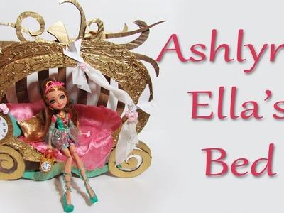 How to make Ashlynn Ella's Bed [EVER AFTER HIGH]