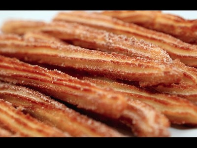 HOW TO MAKE CHURROS - VIDEO RECIPE