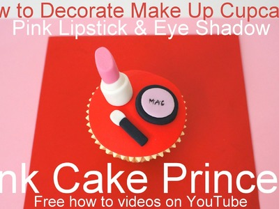 How to Make Edible Cosmetics Cupcakes (1)