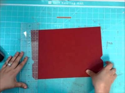 How to make File Folders with the We R Memory Keepers Punch Board