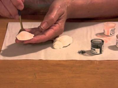 How To Make Gumpaste Seashells (Part 1)