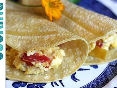 How To Make Migas - Mexican Scrambled Eggs
