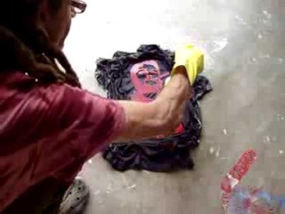 How to Make One of a Kind (Discharge) Tye-Dye T-Shirts (6) by ArJeiEmSi