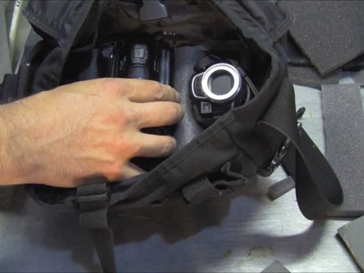 How to Make Your Own Camera Bag Insert! Easy.