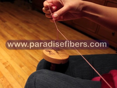 How To navajo ply on a drop spindle with Rachel from Paradise Fibers