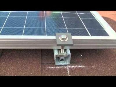 Installing solar panel on my roof
