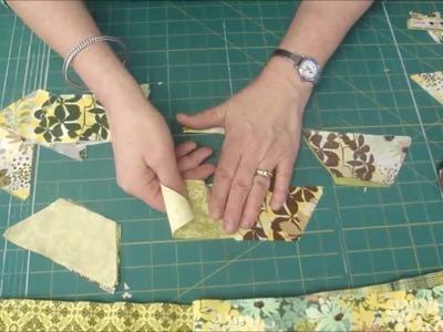 "Make a Hexagon Quilt Using the 5"" Half-Hex Ruler"