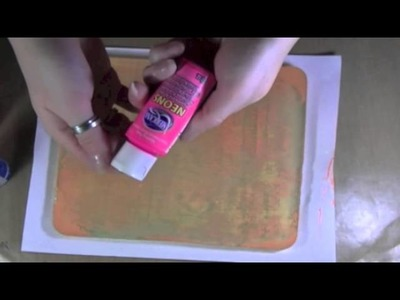 Making A Homemade Permanent Gelli Plate