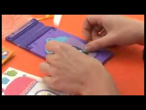 Making the Magic Fabric Photo Frame and Gift Card demo video