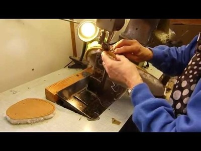 Moccasin Sheepskin Slippers Being Made By Hand at Sheepland in England!
