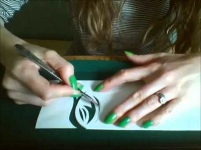 Mrsmcindoe The Art of Papercutting Demo
