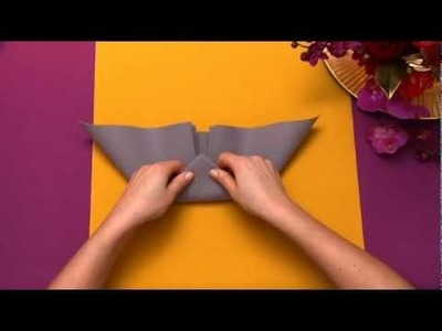 Napkin folding from Duni - Elegant