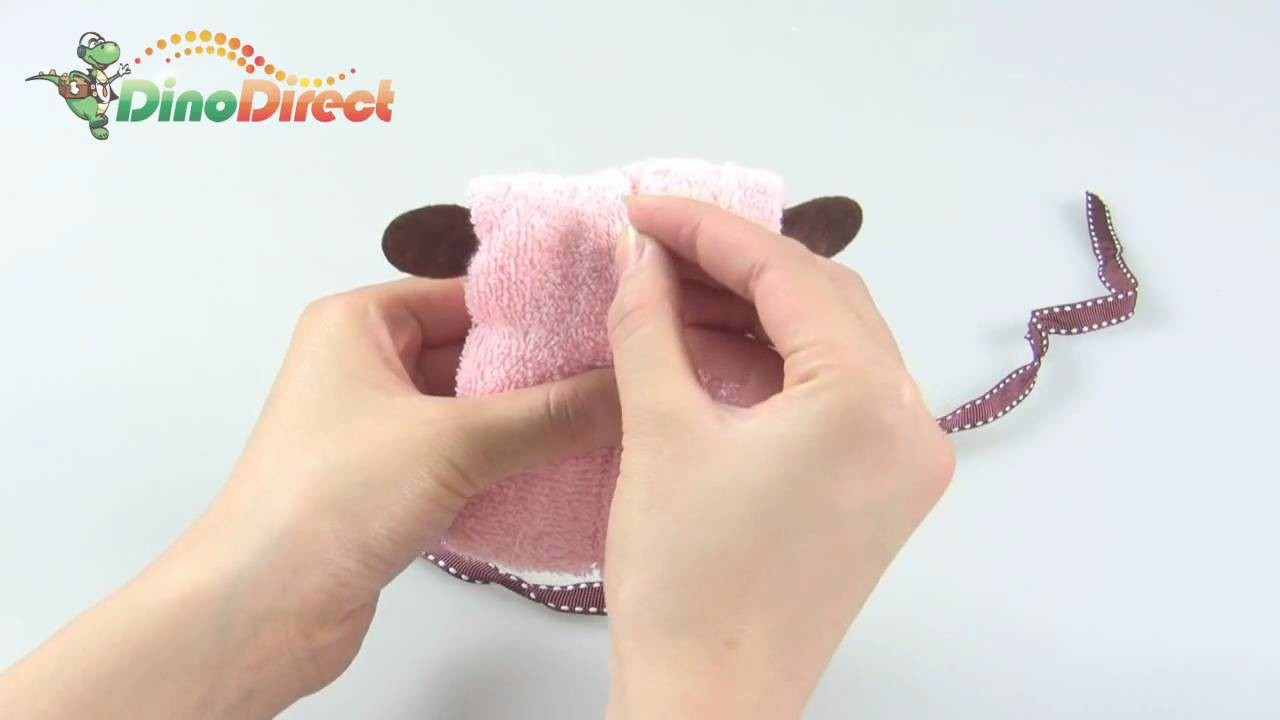 Puppy Dog Towel Wedding Party Favor Baby Shower - dinodirect