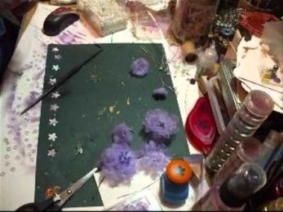 Purple Organza Flower Tutorial - jennings644
