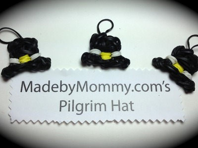 Rainbow Loom Hat Charm
