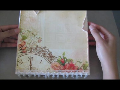 Rina (Scrapstress) Canvas Project (Pt. 1)