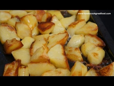 how to make roast spuds
