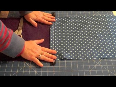 Sewing a Cushion Part 2 (zip and finish)