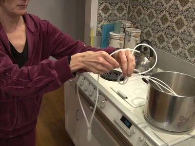 Straightening Piping Cord for Easier Sewing
