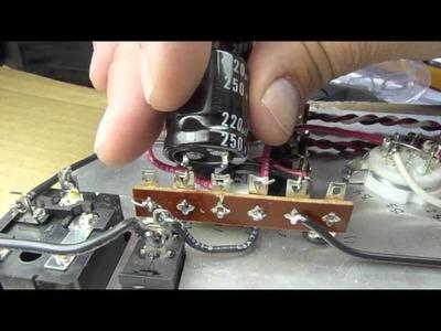 The Bottlehead Crack DIY Tube Headphone Amp Kit