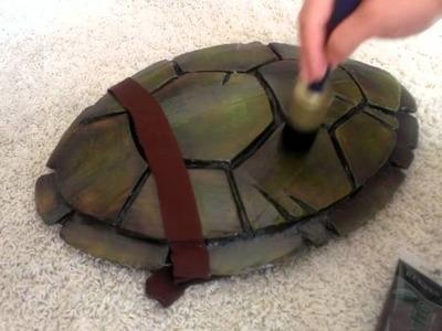 TMNT Turtle Shell Costume Build - part 2