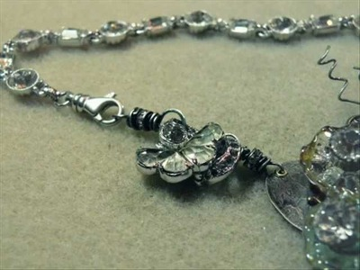Transforming Vintage Jewelry into a Connector Sneak Peak