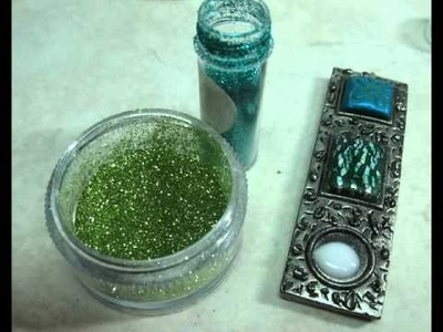 "Using your ""Mini"" CaBezel Jewelry Molds to make a pendant"