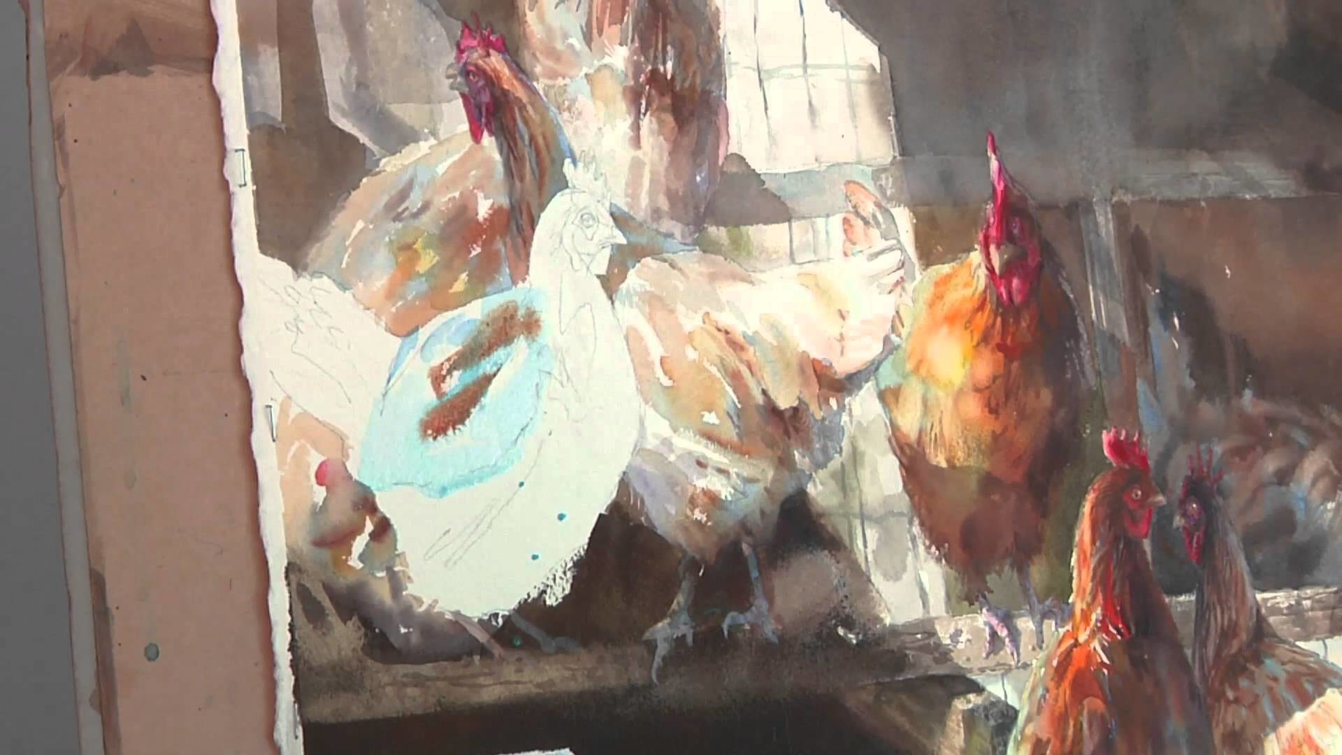Watercolor Portraits of the South with Mary Whyte: Preview