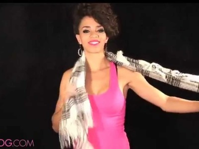 20 Ways How to Wear a Scarf - Video Response - How to Tie a Scarf