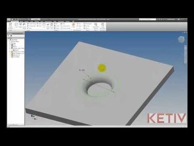 Autodesk Inventor Tutorial: Sheet Metal Emboss