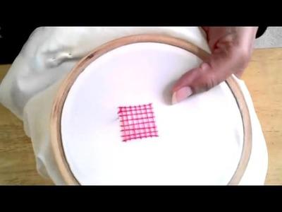 Basic Embroidery  Net Stitch