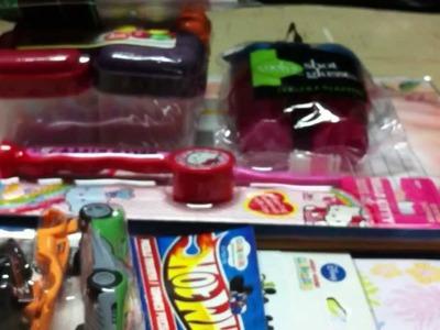 Craft Haul: Walmart, Rite Aid, Dollar Tree, Kawaii Store