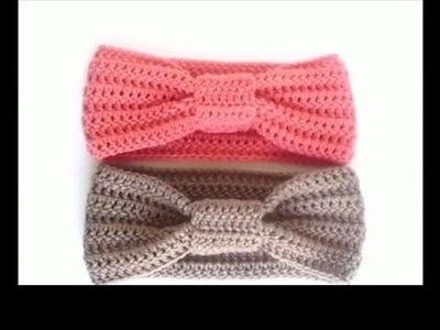 Crochet headbands for babies