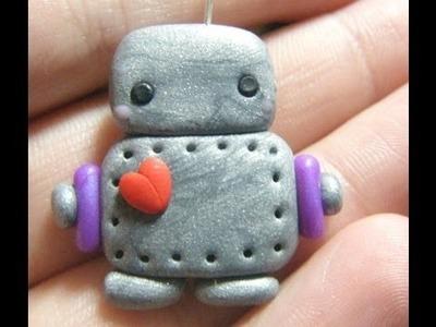 Cute Polymer Clay Robot Tutorial!