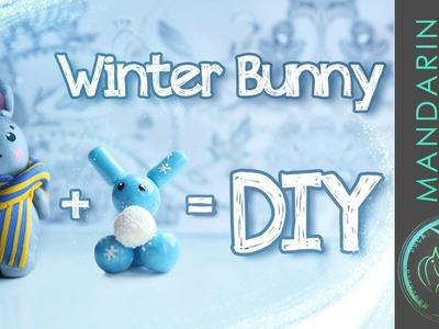 DIY: CUTE BUNNY - with Polymer clay