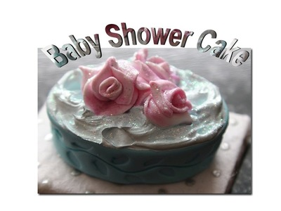DIY: How To Make a Baby Shower Cake With Polymer Clay
