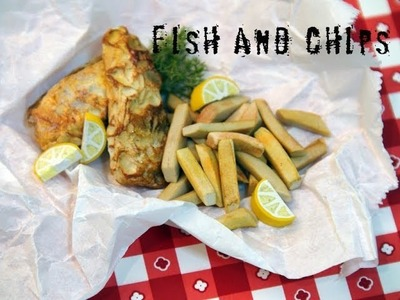 DIY: How To Make Miniature Fish and Chips With Polymer Clay