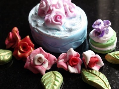 DIY: How To Make Miniature Roses With Polymer Clay