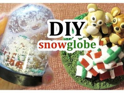 DIY Polymer Clay Snowglobe
