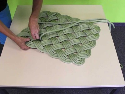 EDELRID How to weave a rope mat