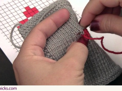 Embroidery: How to do the Duplicate Stitch