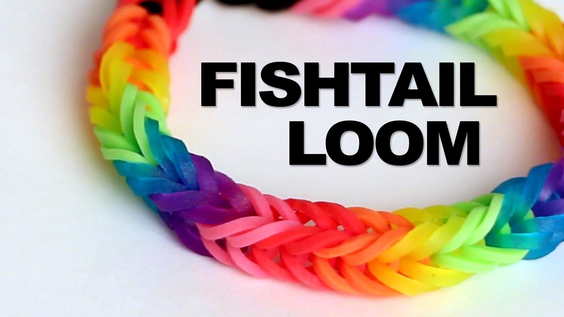 Fishtail Loom Bracelet - Tutorial || Rainbow Loom