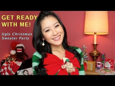Get Ready with Me! Ugly Christmas Sweater Party + Winners Announced :)